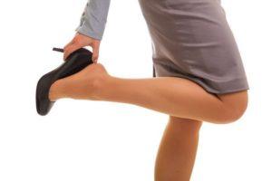 Picioarele poartă greutatea