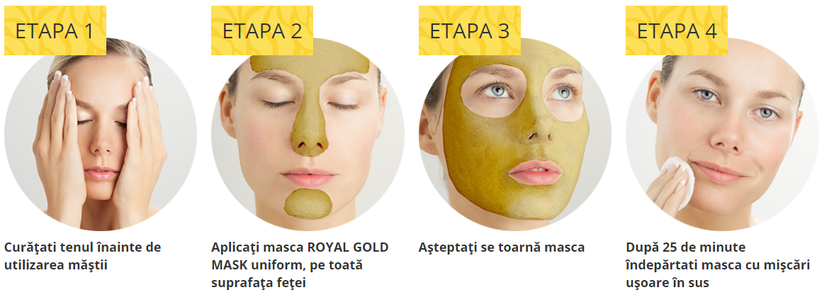 Ce preț Royal Gold Mask pe amazon