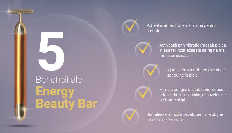 Efectele după folosirea Energy Beauty Bar