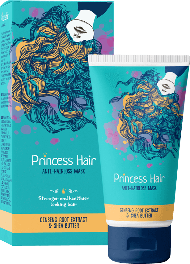 Masca de par Princess Hair - cum functioneaza