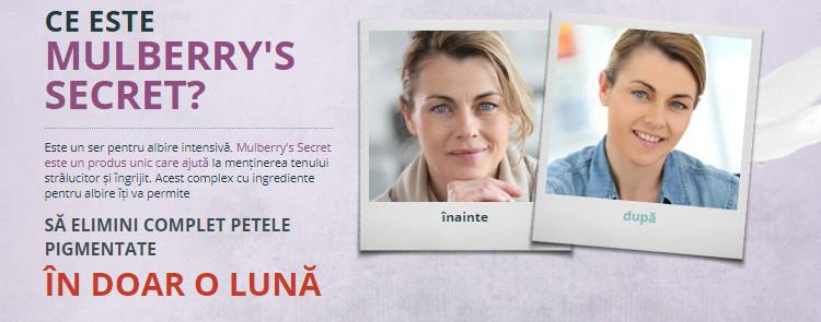 Mulberry's Secret, puteți cumpăra într-o farmacie în România